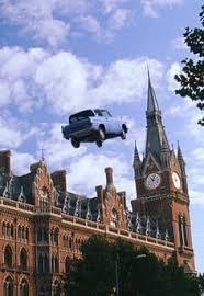 تاكسى يطير بدون مزاح  فى الجو