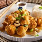 من الصين اليكى :شرائح الدجاج بالصلصة الحارة والحلوة