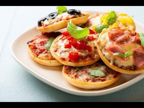 طريقة عمل الميني بيتزا للمدارس
